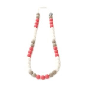 Collier de dentition - Maman chic - Tricolore - Tropique